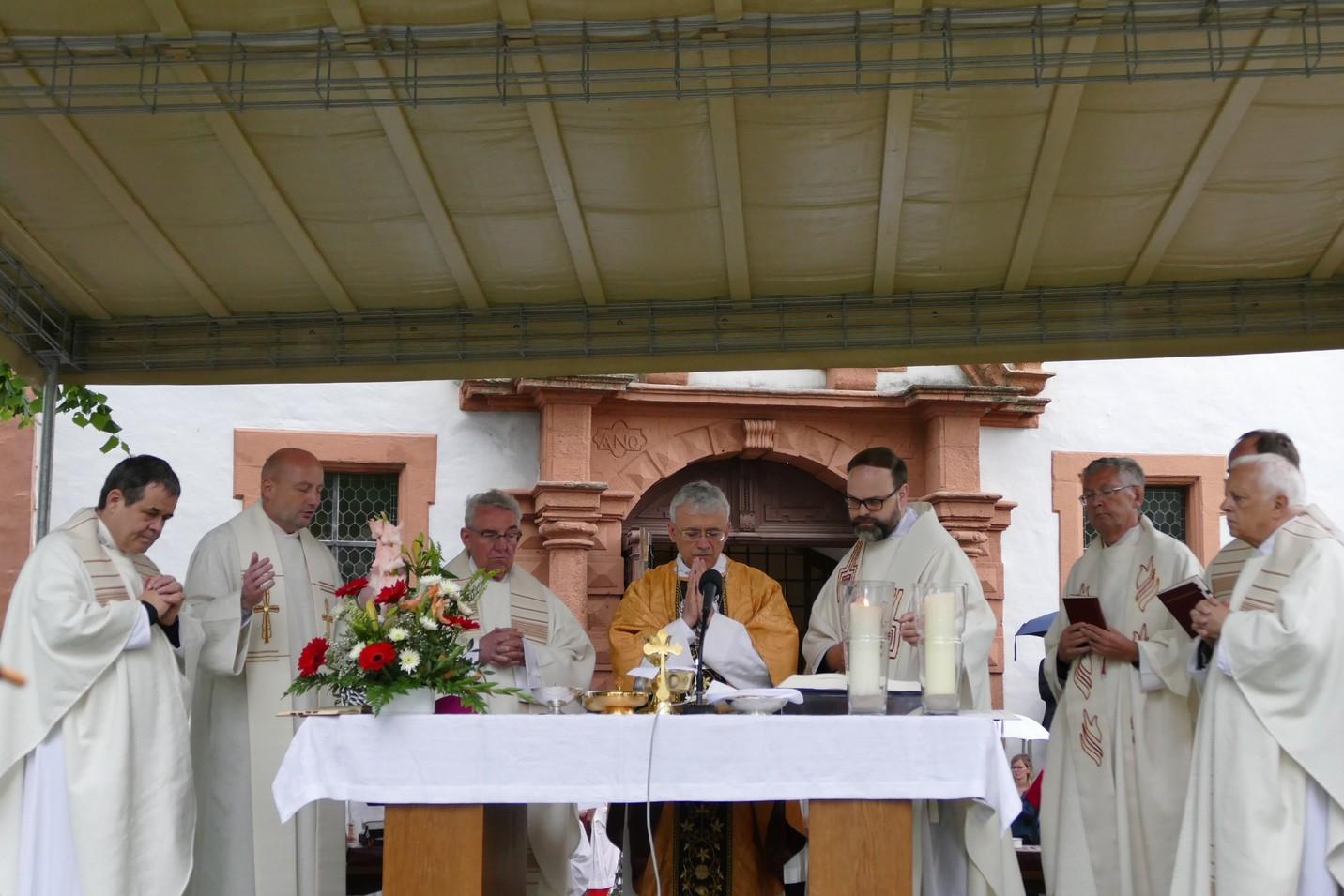 В середине июня Владыка Иосиф Верт побывал в святилище Святого Антония Падуанского в Тюрингии