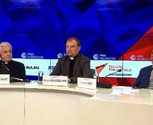 90 лет городу-государству Ватикан. Этой дате Апостольский нунций в РФ посвятил пресс-конференцию в Москве