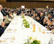 Увидело свет Папское послание на Всемирный день бедных