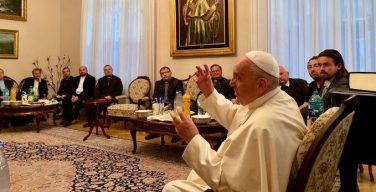 Папа Франциск в беседе с румынскими иезуитами: ныне путь униатства недопустим, но греко-католикам нужно помогать