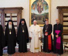Папа подтвердил «крепкие узы» между Церквами Рима и Константинополя
