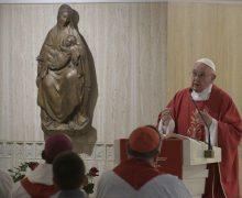 На Мессе в Доме Святой Марфы Папа Франциск говорил о бескорыстии христианского служения
