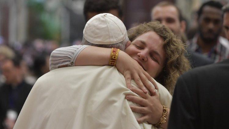 Папа Франциск молодёжи: вы – сегодняшний день Бога и Церкви