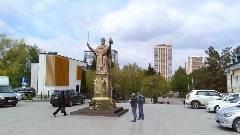 В Новосибирске собираются возвести памятник Святому Николаю Чудотворцу