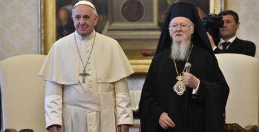 Патриарх Варфоломей приветствует симпозиум в Неаполе с участием Папы Франциска