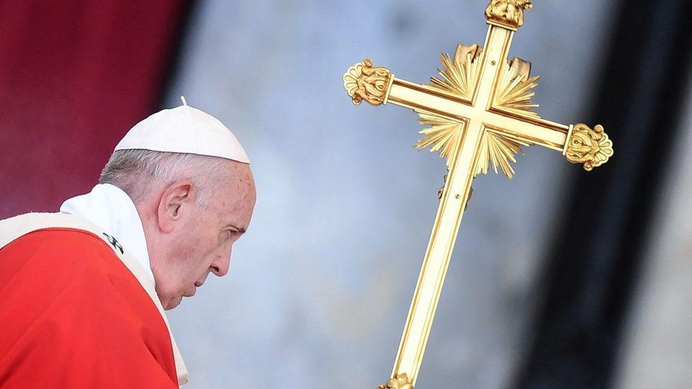 Папа Франциск возглавил Мессу в Навечерие Пятидесятницы и сказал проповедь