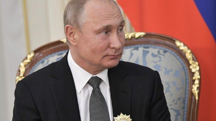 Папа Франциск встретится с президентом Российской Федерации
