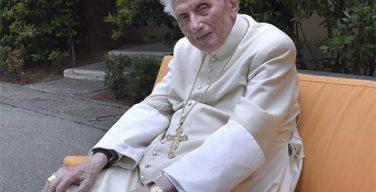 Папа на покое Бенедикт XVI: Единство Церкви сильнее внутренних конфликтов и разногласий