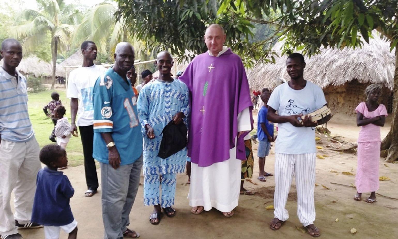 Отец Сергей Гоман, SDB, миссионер из Сьерра-Леоне: «Трудно работать не там, где много проблем, а там, где теряешь веру…» (+ФОТО)