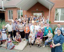 Епархиальный Дом пожилых людей в Сереброполье отметил свой седьмой день рождения!