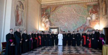 Папа Франциск обратился к руководству Украинской Греко-Католической Церкви