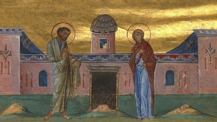 Неожиданная радость Анны и Иоакима