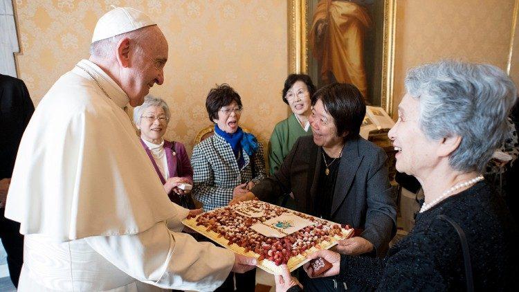 О ситуации в Японии в преддверии Папского визита
