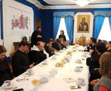 Делегация Римско-Делегация Католической Церкви посетила в Москве Синодальный отдел по благотворительности