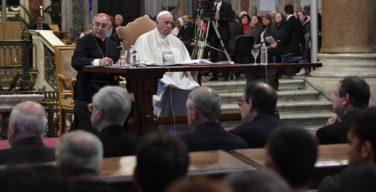 Римский священник воспринял призыв Папы Франциска буквально