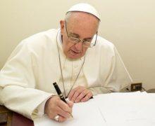 Папа Франциск обратился с посланием у участникам Синода Церквей вальденсов и методистов
