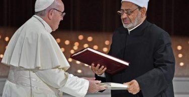 Папа Франциск одобрил учреждение Комитета по воплощению в жизнь мусульмано-католической декларации