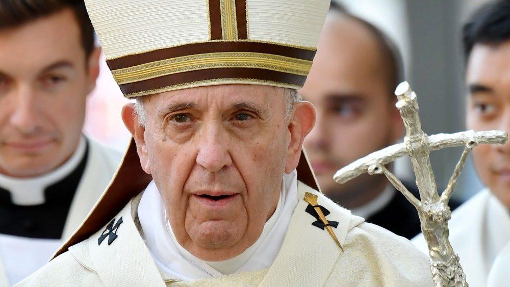 Папа Франциск посетил город Альбано-Лациале в регионе Лацио