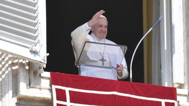 Слово Папы Франциска перед чтением молитвы «Ангел Господень» в 24-е Рядовое воскресенье. 15 сентября 2019 г., площадь Св. Петра