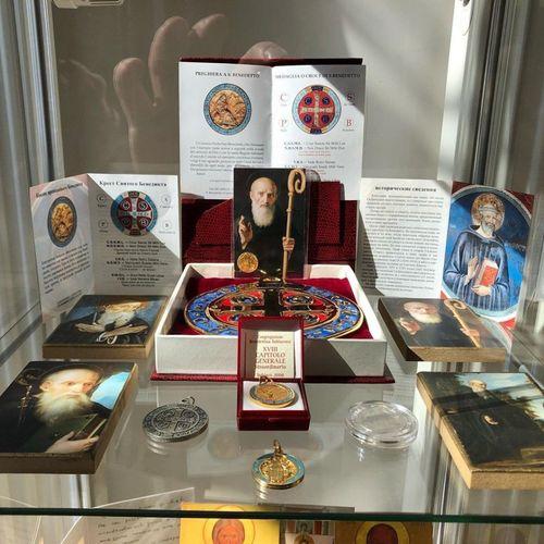 На подворье православного Новоспасского монастыря создали музейную экспозицию, посвященную преподобному Венедикту Нурсийскому