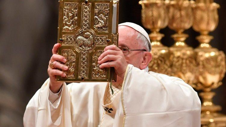 Папа Франциск учредил Воскресенье Слова Божьего