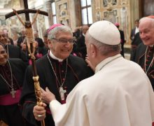 Папа Франциск встретился с новыми епископами