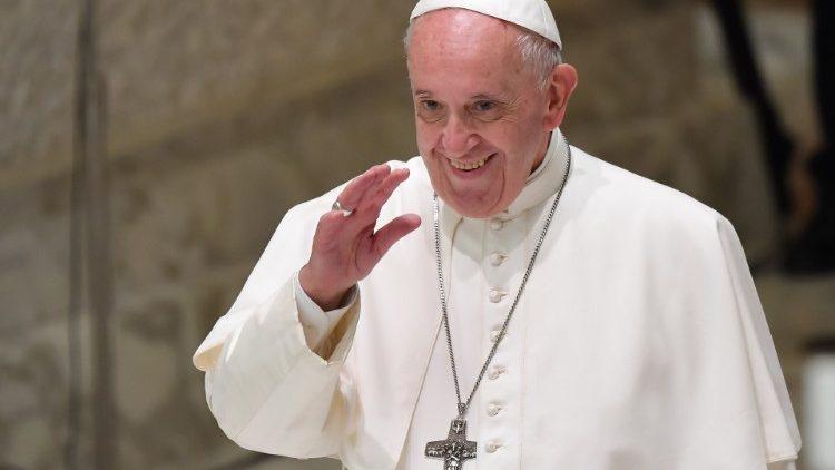 Папа Франциск посетил общину «Новые горизонты» во Фрозиноне