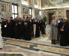 Папа Франциск правоведам Восточных Церквей: каноническое право служит экуменическому диалогу