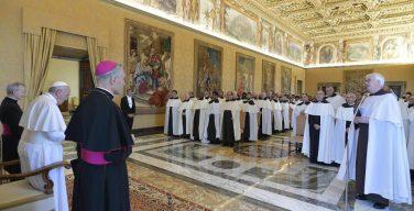 Папа Франциск принял руководителей Ордена кармелитов