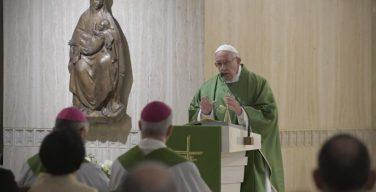 На Мессе в Доме Святой Марфы Папа Франциск размышлял о Божием сочувствии