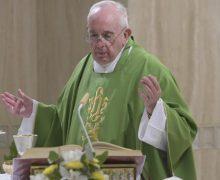 Папа Франциск на Мессе в Доме Святой Марфы размышлял о сущности священнического служения