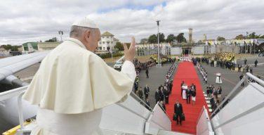 Визит Папы Франциска в Юго-Восточную Африку завершен