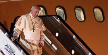 Папа Франциск прибыл в Мозамбик