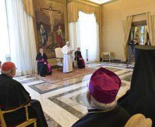 Папа Франциск епископам Восточных Католических Церквей: ваше задание – стать сеятелями Евангелия любви, не ограниченной пределами канонических территорий и юрисдикционных отличий