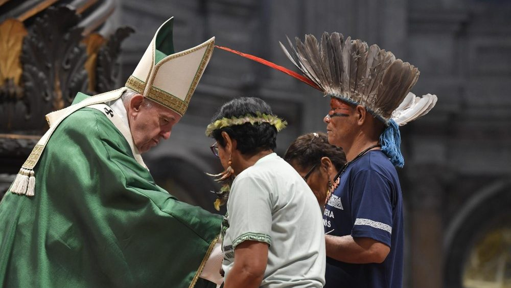 Папа Франциск открыл Специальную Ассамблею Синода Епископов, посвященную проблемам Амазонии