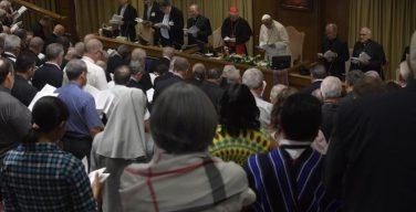 На Синоде епископов представлен проект Итогового документа
