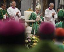 Опубликована программа Папских богослужений на конец текущего года и начало следующего