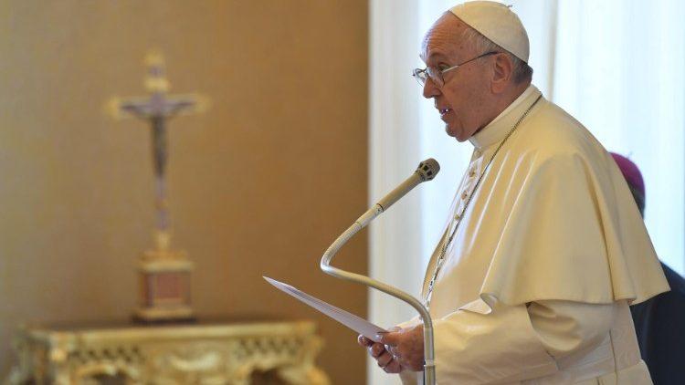 Папа – сервитам: будьте людьми надежды