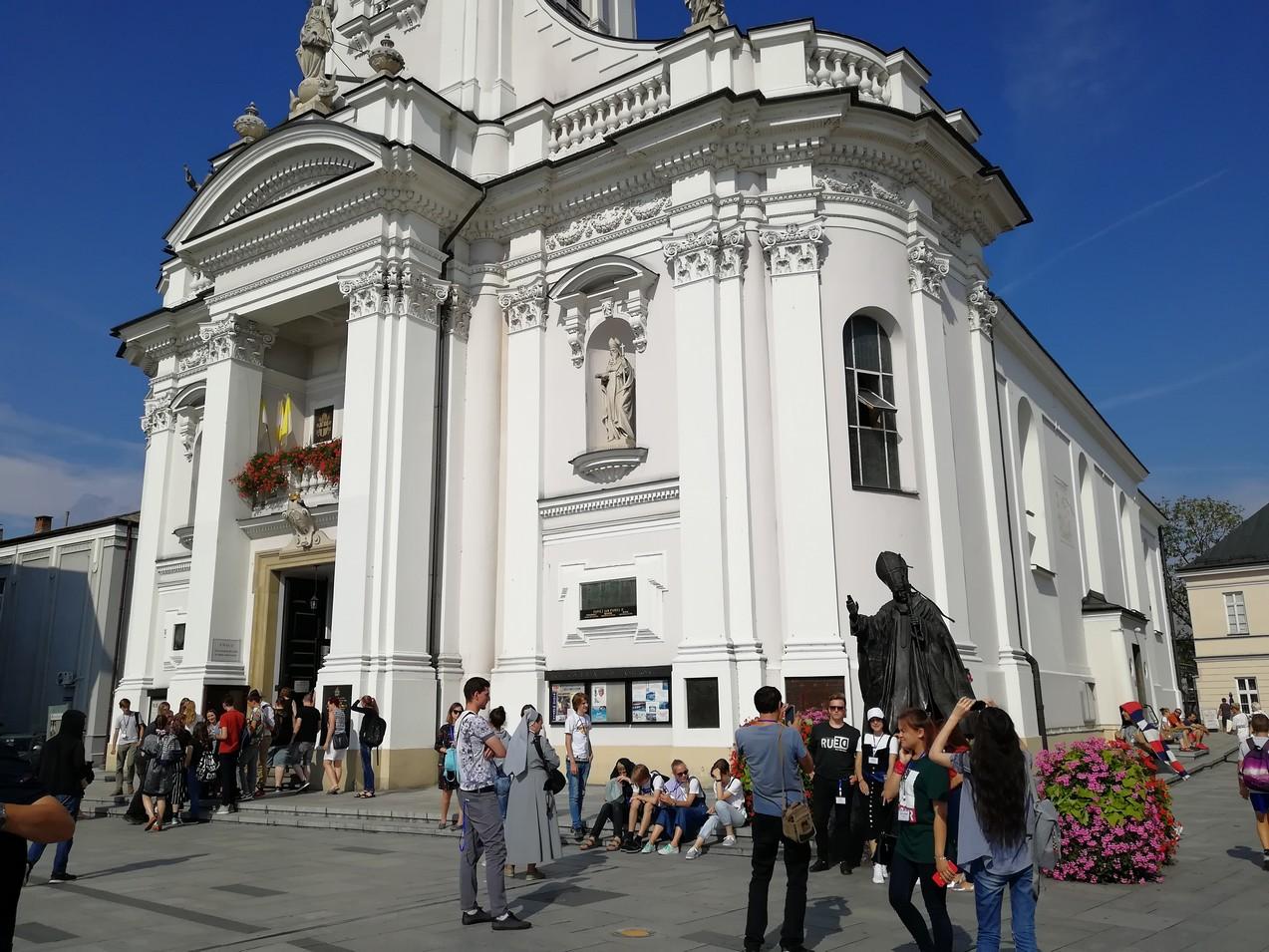 Паломничество российской молодежи в Польшу в августе 2019 г.