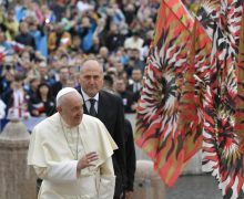 На общей аудиенции 13 ноября Папа Франциск подчеркнул роль мирян в проповеди Евангелия в ранней Церкви