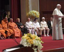 Папа Франциск в Таиланде: встречи со священниками, епископами, лидерами других религиозных конфессий и представителями академической среды