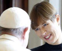Папа Франциск принял в Ватикане президента Эстонии