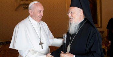 Папа Римский обратился с посланием к Патриарху Константинопольскому по случаю торжества Святого Апостола Андрея Первозванного