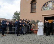 Посещая центр Римского Каритас, Папа Франциск призвал его сотрудников и клиентов к «безумию любви»