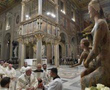 Папа Франциск на празднике освящения Латеранской базилики: Бог может возродить любое сердце