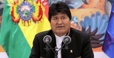 Эво Моралес обратился за международной помощью для разрешения кризиса в Боливии