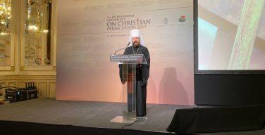 Митрополит Волоколамский Иларион принял участие во II Международной конференции, посвященной теме защиты христиан