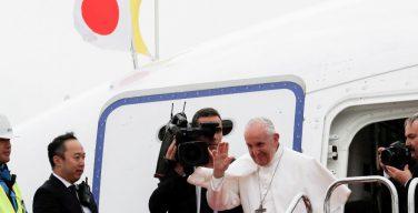 Визит Папы Франциска в Японию завершен
