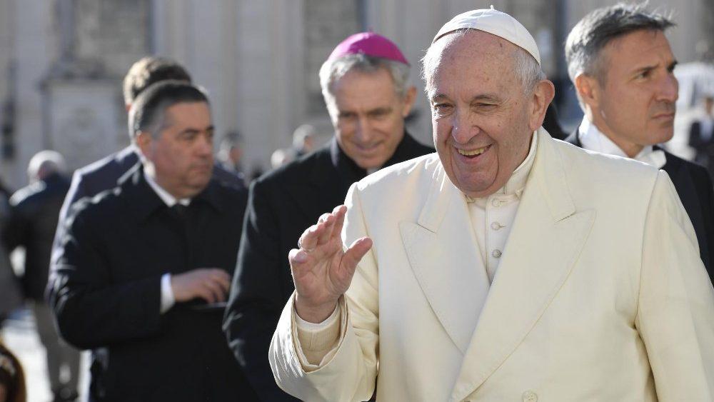 На общей аудиенции 4 декабря Папа Франциск размышлял о сцене прощания святого апостола Павла