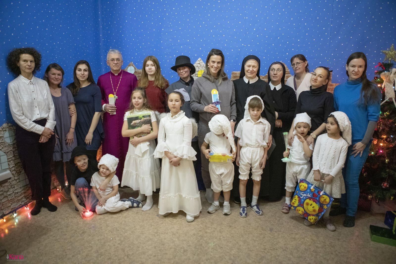Рождество Христово отпраздновали в Центре детского досуга «Божьи коровки» (ФОТО)